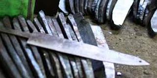 包丁の製造工程