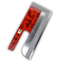 麺切包丁 白鋼 尺0 赤漆