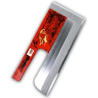 麺切包丁 白鋼 尺0 漆 馬(作品)