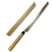 hide-y-019 / まぐろ切り包丁 青鋼 尺8 鞘付