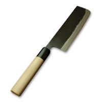 菜切包丁 黒打 西型 鞘なし