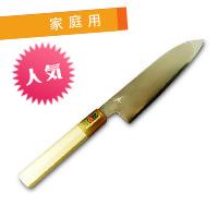 hide-t-300 / 三徳包丁 白鋼 6寸 プレミアム 鞘なし