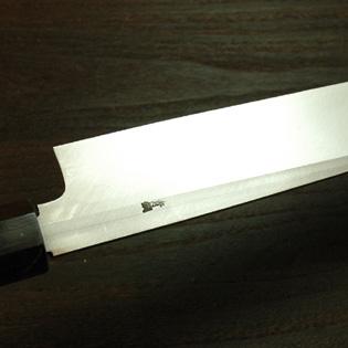 柳刃包丁 青二鋼 尺6 白鞘