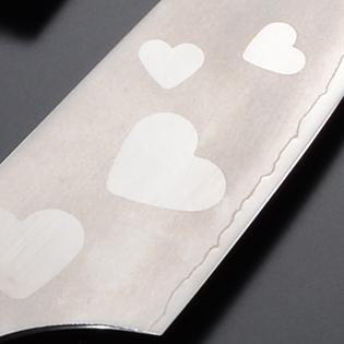 三徳包丁 新型白鋼 6寸 ハート